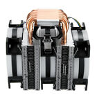 CPU Cooler 6 Heatpipe 4 Pin RGB Cooling Fan For Intel