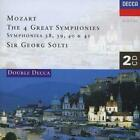 Wolfgang Amadeus Mozart : Mozart: The 4 Great Symphonies CD 2 discs (1997)