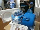 Deni 5201 Fully Automatic 1 1 2 Quart Ice Cream Maker Blue Candy Crusher on Top