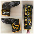 NEW Rare 2015 Scotty Cameron CAMO BULLDOG Blade PUTTER HEADCOVER