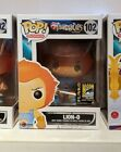 Funko POP! FLOCKED Lion-o Thundercats SDCC 2014 Exclusive 1000 PIECES HARD STACK