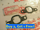 1 UNIT GENUINE KAWASAKI MACH I S1 KH250 AIR INLET GASKET 16062-015 .