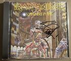 Iron Maiden Steve Harris Autograph Somewhere In Time CD UK Press VG++