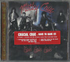 CD: MÖTLEY CRÜE [New] ‎- Girls, Girls, Girls - Hair Band Glam Metal