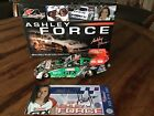 ASHLEY FORCE NHRA 2007 Castrol GTX Ford Mustang Funny Car 124 White Gold Signed