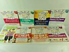 Lot of 8 Books Biggest Loser Diet Weight Loss Exercise Cookbook Jillian Desserts