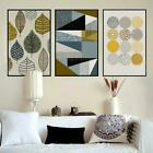 Abstract Geometric Canvas Paintings Nordic Scandinavian Posters Prints Wall Art