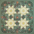 OKLAHOMA PRAIRIE Piecing Applique Quilt Pattern Removed from a Magazine