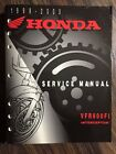 HONDA 1998 1999 2000 VFR800FI INTERCEPTOR MOTORCYCLE SERVICE MANUAL VFR 800 FI