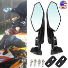Motorcycle Racing Rearview Mirrors For Suzuki GSXR 600 750 1000 Hayabusa 1300 GS