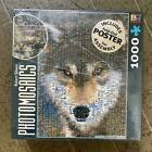 1000 piece jigsaw puzzle Wolf photo mosaic Native American