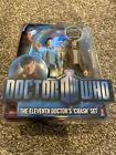 Doctor Who Matt Smith The Eleventh Doctors Crash Figure Set FACTORY SEALED