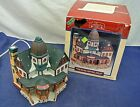 LEMAX, CADDINGTON VILLAGE, ASHLEY INN, PORCELAIN LIGHTED HOUSE, 1997