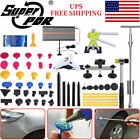 Super Pdr Tools Car Body Paintless Dent Repair Kit Slide Hammer Puller Lifter Us