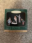 Hallmark King of the Forest Wizard of Oz Set of 4 Miniature Christmas Ornaments