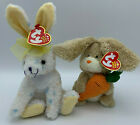 2 in Lot Ty Retired Beanie Babies Plush