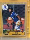 Bo Jackson Rookie Cards and Memorabilia Guide 13