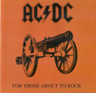 For Those About To Rock We Salute You by AC/DC (CD,1994, Atco) BMG REISSUE D1058
