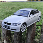WELLY FX 118 Scale BMW 330i 3 Series Silver Diecast Alloy Model Car Collection