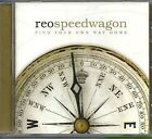 REO Speedwagon FIND YOUR OWN WAY HOME  Factory Sealed cd