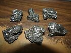 6 PC LOT OF CAMPO DEL CIELO METEORITE CRYSTALS 30 50 GMS IN SIZE 250 GMS