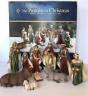 The Promise of Christmas By Robert Stanley 10 Pc Nativity Set 2009
