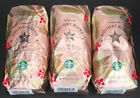 3X Starbucks Holiday Blend 2019 Herbal Sweet Maple Whole Bean Coffee 1LB Each