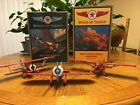 Lot of 3 WINGS OF TEXACO Airplanes