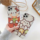 Cute Hello kitty Bear Soft TPU Phone Case For iPhone 11 Pro Max XR XS 7 8 Plus
