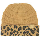 CC Kids Classic Ages 2 to 5 Soft Stretchy Knit Chunky Slouch Beanie Cap Camel