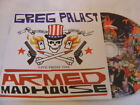 GREG PALAST - LIVE FROM THE ARMED MADHOUSE CD ALTERNATIVE TENTACLES jello biafra