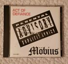 Mobius - Act Of Defiance CD (1993, MOB-00001) hard rock metal funk