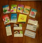 Huge Weight Watchers Lot FlexPoints Program Books Calculators Journals etc