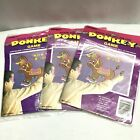 Pin The Tail On The Donkey Game Set Of 3 Birthday Party Games Vintage 1994