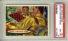 1957 Topps Space Cards #21 Space Checker Game PSA 8 NM-MT