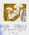 MEXICAN & SPANISH - 37 ACOUSTIC 78 rpm SELECTIONS on TWO CD's!