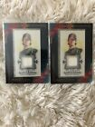 Tim Lincecum 2009 Allen And Ginter Jersey Card Mini Lot Of Two