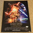 Daisy Ridley Star Wars Ep 7 The Force Awakens Star as Rey SIGNED 16x12 PSA