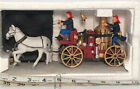 Lemax - Village Volunteers - Horse Drawn Fire Wagon - 03332 With Box