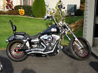 2012 Harley-Davidson Dyna  2012 Dyna Wide Glide With 3900 Miles, Completely CUSTOM