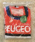 Retro PEUGEOT Cycling Jersey Orange 2XL france pro team tdf mavic simplex