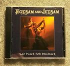FLOTSAM AND JETSAM No Place for Disgrace CD - MINT - Free Fast U.S. Shipping