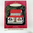 Hallmark Christmas Ornament Farm House Town And Country Series Pressed Tin 1999