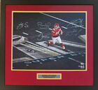 Kansas City Chiefs Signed Super Bowl 54 Framed 16x20 Photo LE 4 of 54 Fanatics