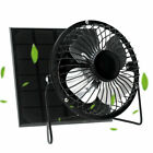 Handheld Mini Fan Desktop Air Cooler Portable Fan USB Charging With Solar Panel