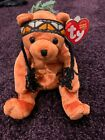 TY BEANIE BABIES- INDIAN BEANIE BEAR-