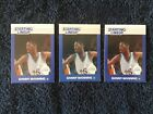 (3) 1988 Starting Lineup Danny Manning ROOKIE rc cards lot.     KANSAS LEGEND!
