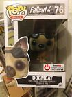 Funko POP Games Fallout 4 Dogmeat #76 Flocked Game Stop Power Up Exclusive