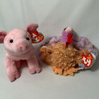 2 in Lot Ty Beanie Babies Plush