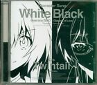 I will be a twin tail.Character song black and white board Thinking time of ...